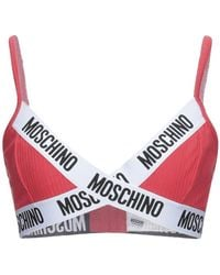 Moschino Reggiseno - Rosso