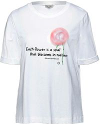 Cappellini By Peserico Camiseta - Blanco