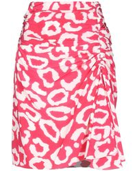Isabel Marant Midi Skirt - Red