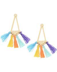 Rebecca Minkoff Earrings - Orange