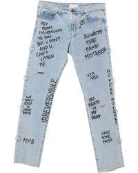 Faith Connexion Denim Trousers - Blue