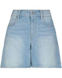 G-Star RAW Bermuda en jean - Bleu