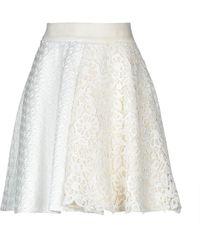 Fausto Puglisi Midi Skirt - White