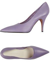 Victoria Beckham Court Shoes - Purple