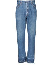 RE/DONE with LEVI'S Jeanshose - Blau