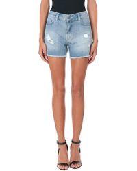Minimum - Denim Shorts - Lyst