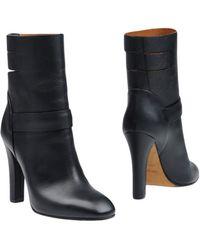 Agnona Ankle Boots - Black