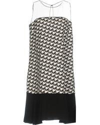 22 Maggio By Maria Grazia Severi Short Dress - Black