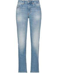be Blumarine Cropped Jeans - Blau