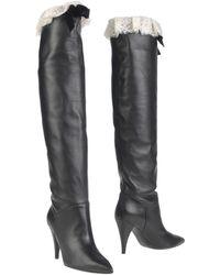 Philosophy Di Lorenzo Serafini Knee Boots - Black