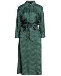 Niu Midi Dress - Green