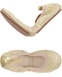 Yosi Samra Ballet Flats - Metallic