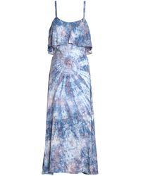 Kain Vestido midi - Azul