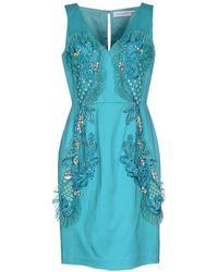 Maria Grazia Severi Short Dress - Blue