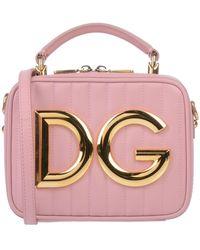 Dolce & Gabbana Bolso de mano - Rosa