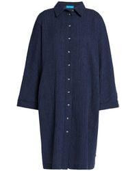 M.i.h Jeans Knielanges Kleid - Blau