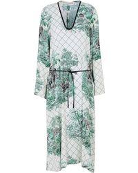 Shirtaporter Robe mi-longue - Blanc