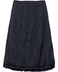 Brock Collection Midi Skirt - Blue