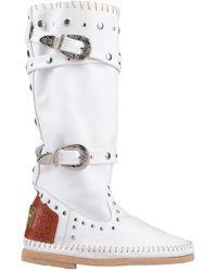 Divine Follie Boots - White