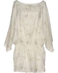 Alpha Studio Short Dress - White