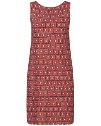 Maliparmi Short Dress - Red