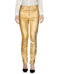 Étoile Isabel Marant Casual Trousers - Metallic