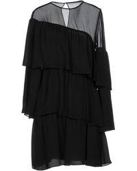 Vanessa Seward Short Dress - Black