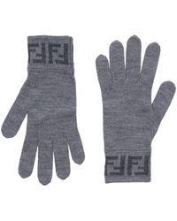 Fendi Gloves - Gray