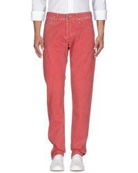 PT Torino Pantalones vaqueros - Rojo