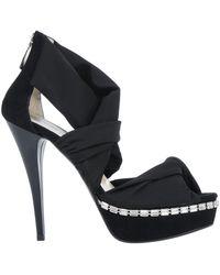 Enrico Lugani Sandals - Black