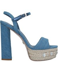 Le Silla Sandals - Blue