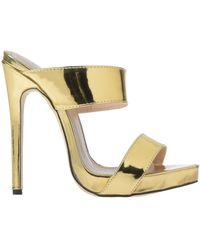 Relish Sandals - Metallic