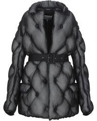 Maison Margiela Synthetic Down Jacket - Black