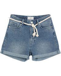 Minimum Short en jean - Bleu