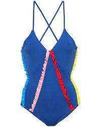 Morgan Lane Costume intero - Blu