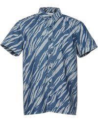 Les Benjamins - Denim Shirt - Lyst