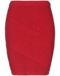 Pinko Falda corta - Rojo