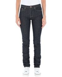Marc By Marc Jacobs Denim Trousers - Blue