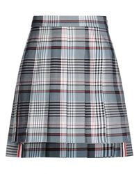 Thom Browne Mini Skirt - Grey