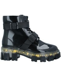 Lemon Jelly Ankle Boots - Black