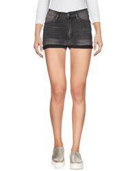 Cheap Monday Denim Shorts - Gray