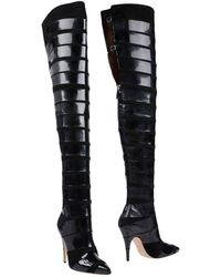 Moschino Boots - Black