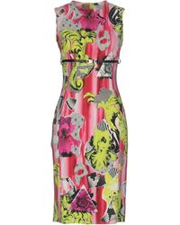 Versace Knee-length Dress - Multicolour