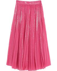MSGM Long Skirt - Pink