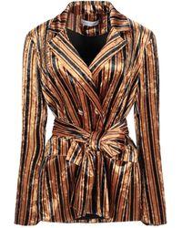 WEILI ZHENG Suit Jacket - Brown