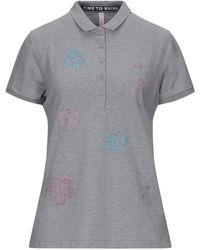 Sun 68 Polo Shirt - Grey
