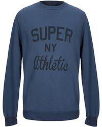 Athletic Vintage Sweatshirt - Blue