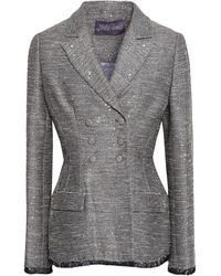 Lela Rose Suit Jacket - Grey