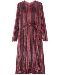Sies Marjan Midi Dress - Red