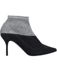 Pierre Hardy Ankle Boots - Metallic